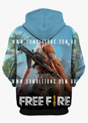 Moletom Free Fire