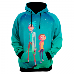 Rick And Morty Art 1 Frente